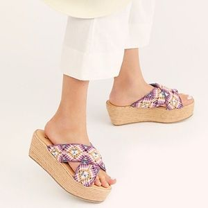 Free People Highline Espadrille Wedge Sandal